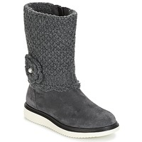 Shoes Girl Boots Geox J THYMAR G. F Grey