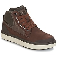 Shoes Boy High top trainers Geox J MATT.B ABX C Brown
