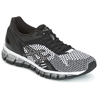 Shoes Women Running shoes Asics GEL-QUANTUM 360 KNIT Black / White