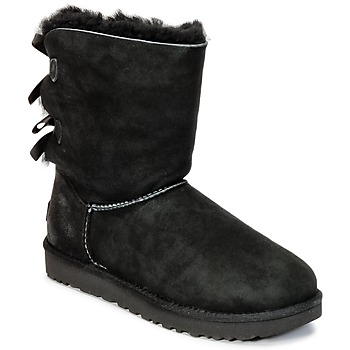 Shoes Women Mid boots UGG BAILEY BOW II Black