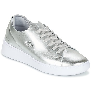 Shoes Women Low top trainers Lacoste EYYLA Silver
