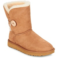 Shoes Women Mid boots UGG BAILEY BUTTON II CHESTNUT