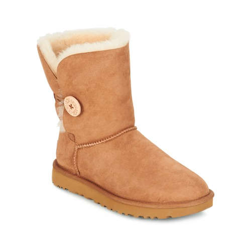 Shoes Women Mid boots UGG BAILEY BUTTON II Brown