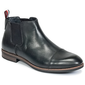Shoes Men Mid boots Tommy Hilfiger TOMMY COLTON 11A Black