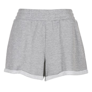 material Women Shorts / Bermudas Yurban  Grey / White