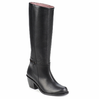 Shoes Women Boots Robert Clergerie ALCOR Black