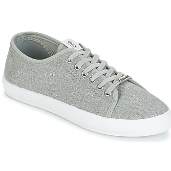 Shoes Women Low top trainers Only SAPHIR GLITTER Grey