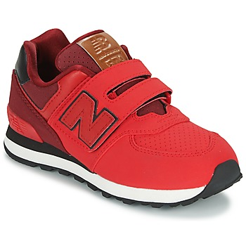 Shoes Children Low top trainers New Balance KV575 Red / Black