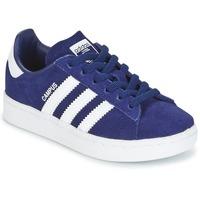Shoes Boy Low top trainers adidas Originals CAMPUS C Marine