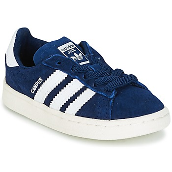 Shoes Boy Low top trainers adidas Originals CAMPUS EL I Marine