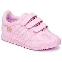 Shoes Girl Low top trainers adidas Originals DRAGON OG CF I Pink