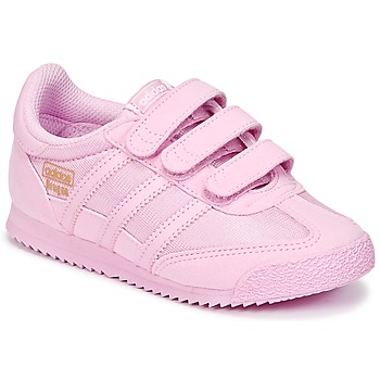 Shoes Girl Low top trainers adidas Originals DRAGON OG CF I Pink