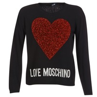material Women jumpers Love Moschino WS89G01X0683 Black