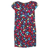 material Women Short Dresses Love Moschino WVF0300T9171 Multicoloured