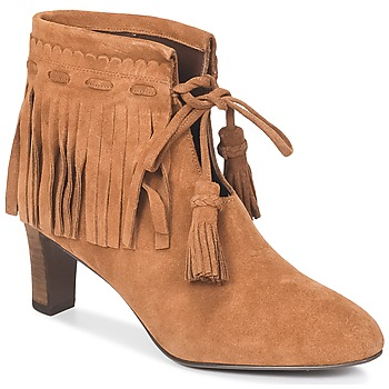 Shoes Women Ankle boots See by Chloé FLARIL COGNAC
