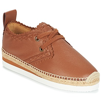 Shoes Women Espadrilles See by Chloé FLAROL Brown