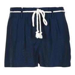 material Women Shorts / Bermudas Casual Attitude GRETTE MARINE
