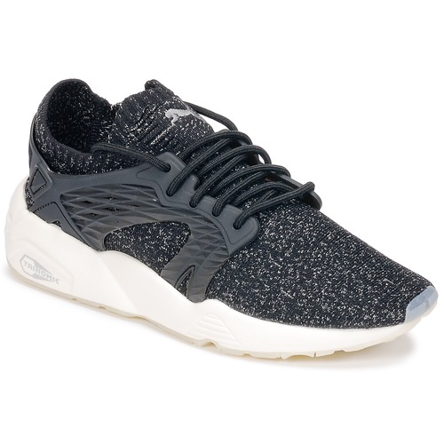 Latest Puma Blaze Cage Evoknit Black / White Sports Shoes for Women Sale