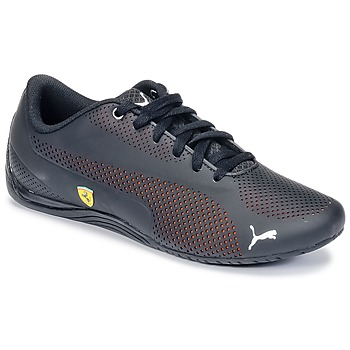 Shoes Men Low top trainers Puma DRIT CAT FERRARI Black