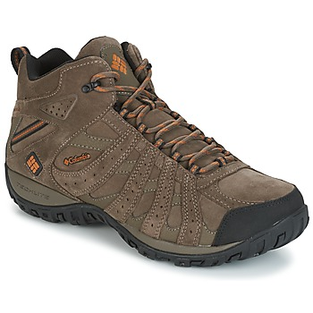 Shoes Men Hiking shoes Columbia REDMOND MID LEATHER OMNI-TECH TAUPE