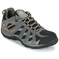Shoes Men Hiking shoes Columbia REDMOND WATERPROOF Black