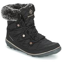 Shoes Women Snow boots Columbia HEAVENLY SHORTY OMNI-HEAT Black