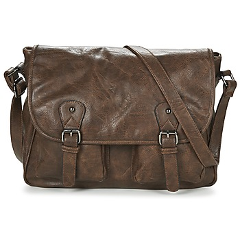 Bags Messenger bags Casual Attitude NUDILE Brown
