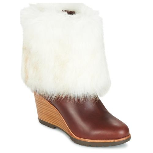 Shoes Women Mid boots Sorel PARK CITY SHORT Brown