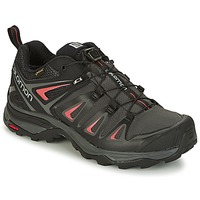 Shoes Women Hiking shoes Salomon X ULTRA 3 GTX® Black / Red