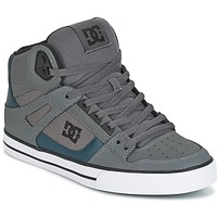 Shoes Men High top trainers DC Shoes SPARTAN HIGH WC Grey / Green