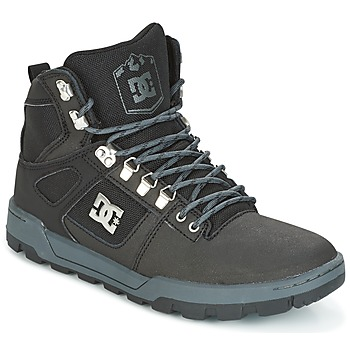 Shoes Men High top trainers DC Shoes SPARTAN HIGH WR Black / Grey