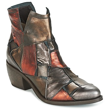 Shoes Women Mid boots Dkode JOELLE-MULTICOLORE-029 Brown