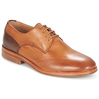 Shoes Men Derby shoes Hudson ENRICO Brown