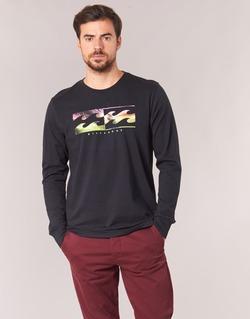 material Men Long sleeved shirts Billabong INVERSE TEE LS Black
