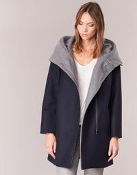 material Women coats S.Oliver DEMIZA Marine / Grey