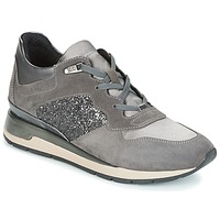 Shoes Women Low top trainers Geox D SHAHIRA Grey