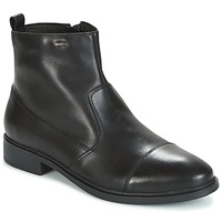 Shoes Men Mid boots Geox U LORIS NP ABX Black