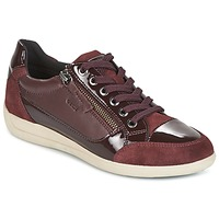 Shoes Women Low top trainers Geox D MYRIA BORDEAUX