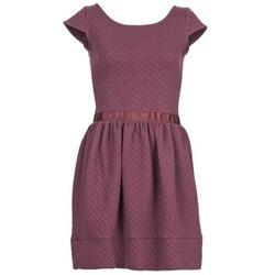 material Women Short Dresses Naf Naf OHORTENSE Violet