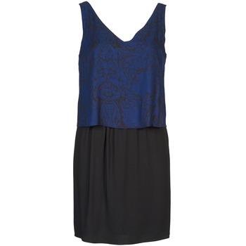 Dresses Naf Naf LORRICE Black / Blue 350x350