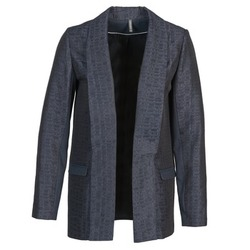 material Women Jackets / Blazers Naf Naf ELYO Marine