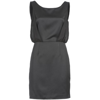 material Women Short Dresses Naf Naf LYCOPINE Black
