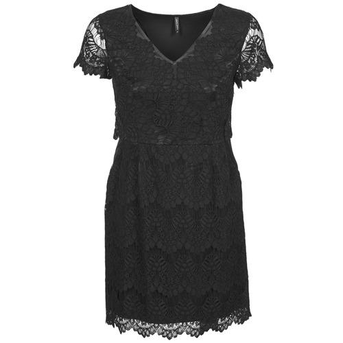 material Women Short Dresses Naf Naf LYJO Black
