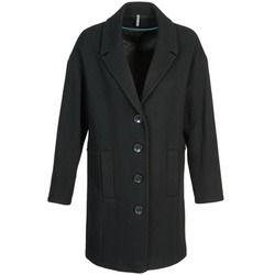material Women coats Naf Naf ALEX Black