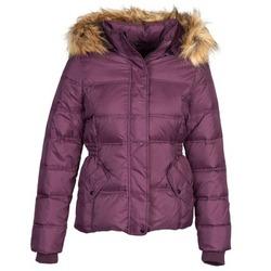 material Women Duffel coats Naf Naf BEGY Bordeaux