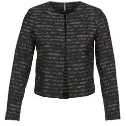 material Women Jackets / Blazers Naf Naf LYMINIE Grey / Black