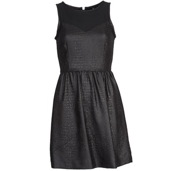 material Women Short Dresses Naf Naf LYTONE Black
