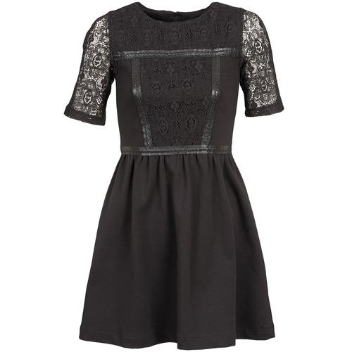 material Women Short Dresses Naf Naf OBISE Black