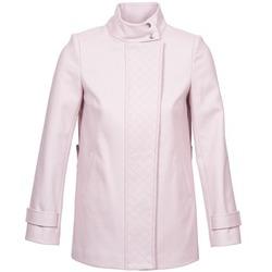 material Women coats Naf Naf ACORA Pink