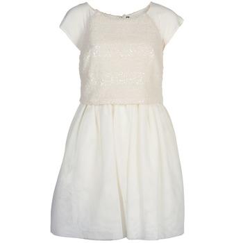 material Women Short Dresses Naf Naf LYMELL White